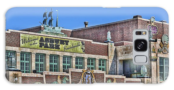 Asbury Park Convention Hall And Paramount Theatre  Galaxy Case by Lee Dos Santos