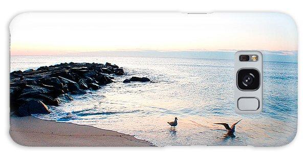 Asbury Seagulls Galaxy Case by Jon Emery