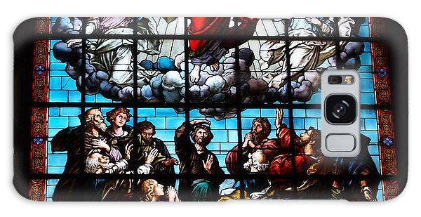Ascension Of Christ Stained Glass Galaxy Case