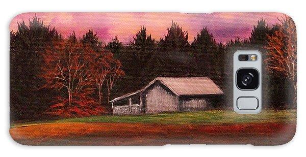 Asheville Barn Galaxy Case