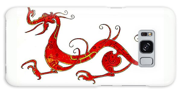 Dragon Galaxy S8 Case - Asian Dragon by Michael Vigliotti