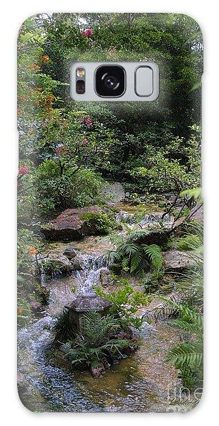 Asian Garden Galaxy Case by Dodie Ulery