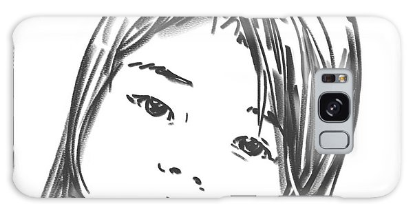 Asian Girl Galaxy Case