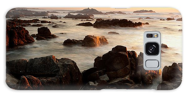 Asilomar Sunset Galaxy Case