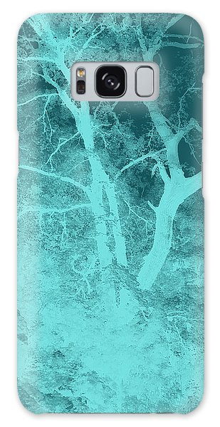 Asleep In The Woods Galaxy Case