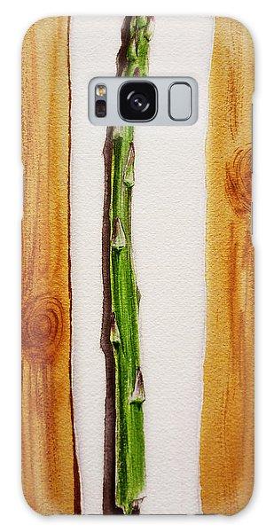 Asparagus Galaxy Case - Asparagus Tasty Botanical Study by Irina Sztukowski