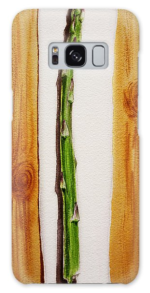 Asparagus Tasty Botanical Study Galaxy Case