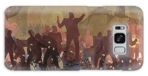 Harlem Galaxy S8 Case - Aspects Of Negro Life by New York Public Library/aaron Douglas