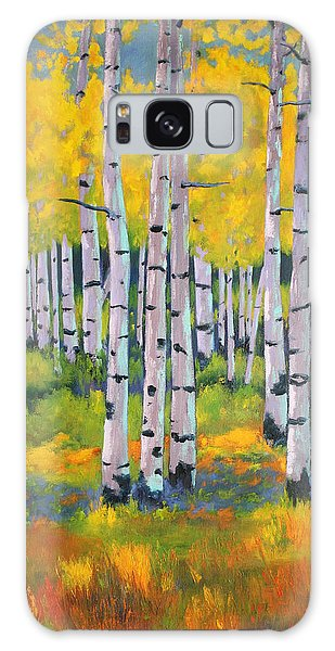 Aspen Color Galaxy Case by Nancy Jolley