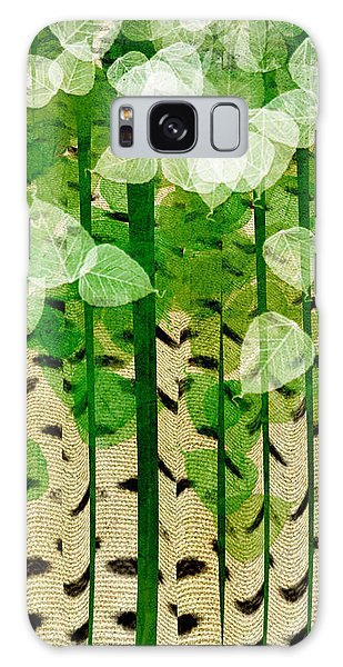 Aspen Colorado Abstract Square 2 Galaxy Case
