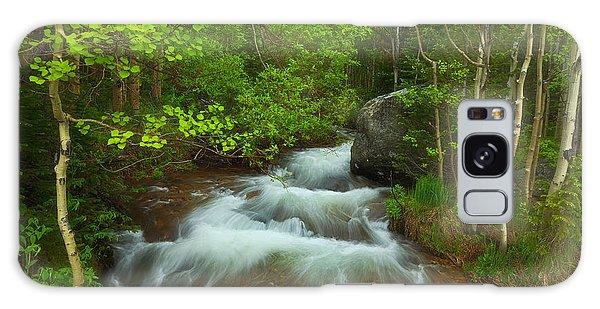 White Mountain National Forest Galaxy Case - Aspen Creek by Darren  White