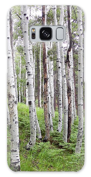 Aspen Forest Galaxy Case by Laurel Powell