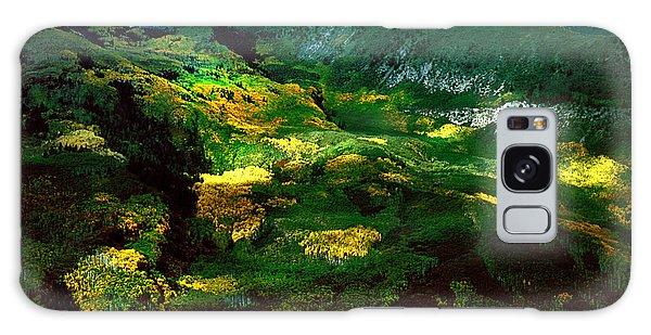 Aspen In Autumn Gold Galaxy Case