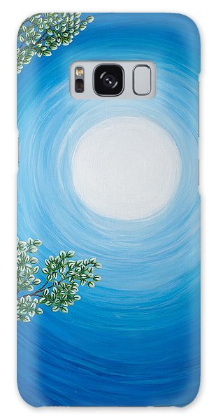 Aspen Moon 2 Triptych Galaxy Case by Rebecca Parker
