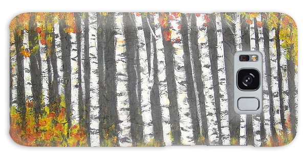 Aspen Trees Galaxy Case