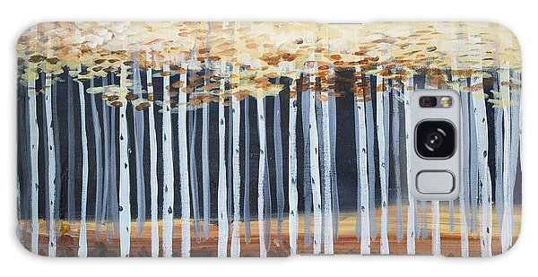 Aspen Trees Galaxy Case