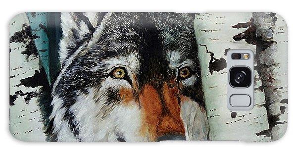 Aspen Wolf Galaxy Case