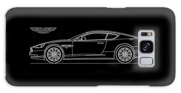 Martin Galaxy Case - Aston Martin Db9 Phone Case by Mark Rogan