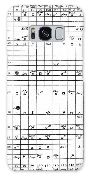Aspect Galaxy Case - Astrology Chart by Universal History Archive/uig
