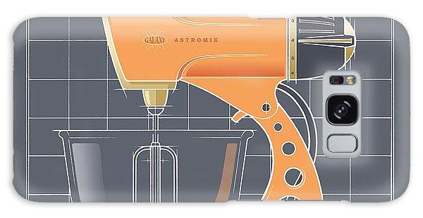 Astromix -tangerine Galaxy Case