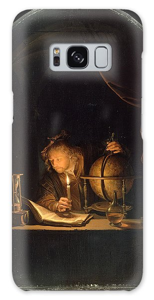 Astronomer By Candlelight Galaxy Case