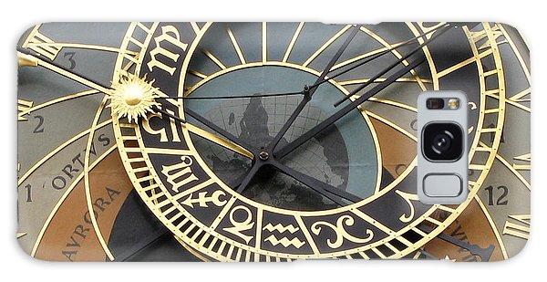 Astronomical Clock Prague Galaxy Case by Eva Csilla Horvath