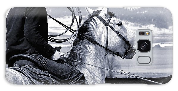 At Home On The Range - 2 Galaxy Case by Kae Cheatham