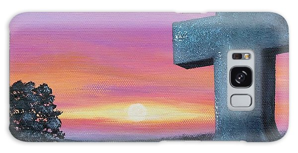 At Peace Galaxy Case by Susan DeLain
