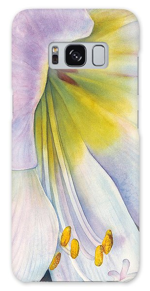 Amaryllis Galaxy Case - At The Altar by Sandy Haight