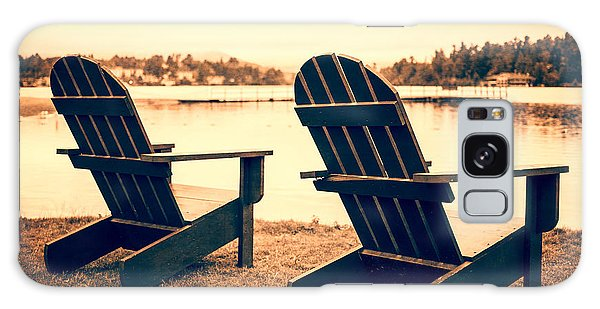 Adirondack Chair Galaxy Case - At The Lake by Edward Fielding