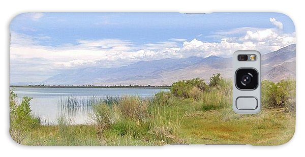 At The Lake Galaxy Case by Marilyn Diaz