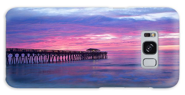 Myrtle Beach State Park Pier Sunrise Galaxy Case
