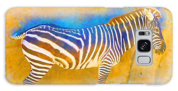 At The Zoo - Zebras Galaxy Case
