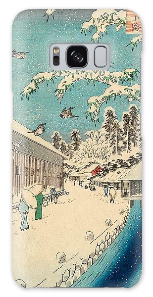 Hundred Galaxy Case - Atagoshita And Yabu Lane by Utagawa Hiroshige