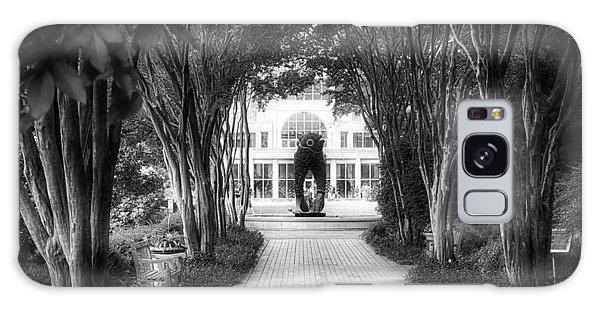 Atlanta Botanical Garden-black And White Galaxy Case