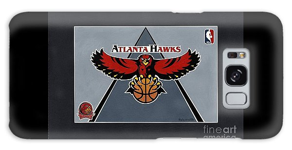 Atlanta Hawks T-shirt Galaxy Case