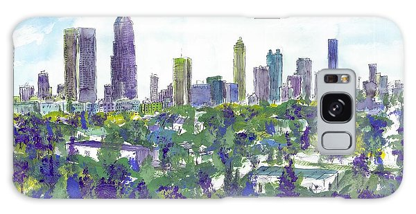 Atlanta In Cool Colors Galaxy Case