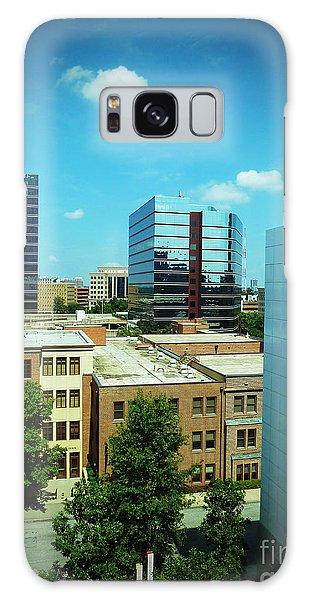 Atlanta Midtown Galaxy Case by Sally Simon