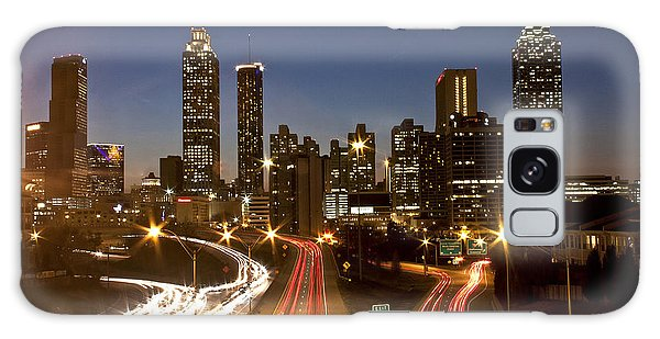Atlanta Skyline - Jackson St Bridge Galaxy Case