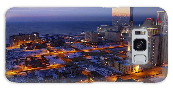 Atlantic City At Dawn Galaxy Case