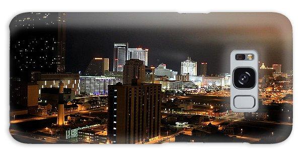 Atlantic City At Night Galaxy Case