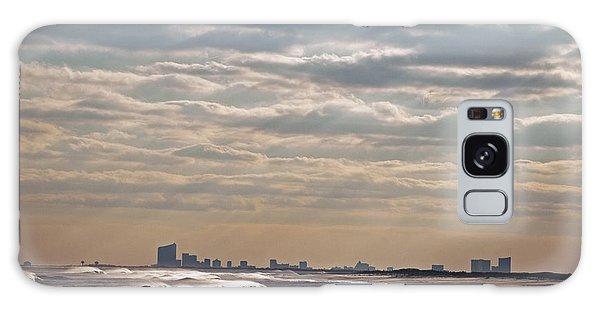 Atlantic City Skyline II Galaxy Case