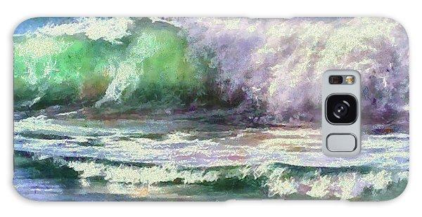 Atlantic Waves Galaxy Case