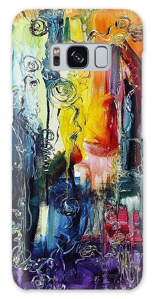 Atlantis Sinking Galaxy Case by Regina Valluzzi
