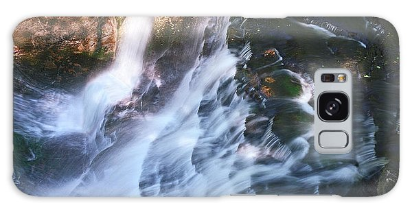 Atop Laughing Whitefish Falls Galaxy Case