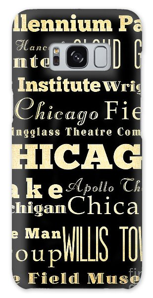 Attractions And Famous Places Of Chicago Illinois Galaxy Case
