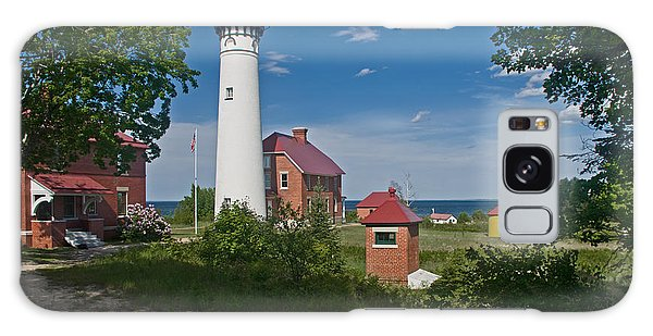Au Sable Point Lighthouse  Galaxy Case