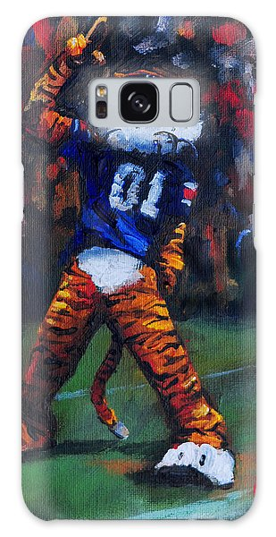 Aubie Doing His Thing Galaxy Case