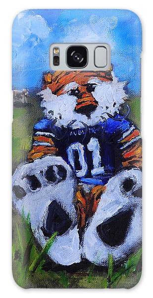 Aubie With The Cows Galaxy Case