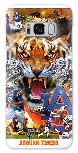 The Eagles Galaxy Case - Auburn Tigers by Mark Spears